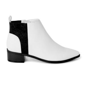 George Women's White Booties